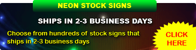 Neon Stock Signs