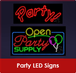 Party LED Signs